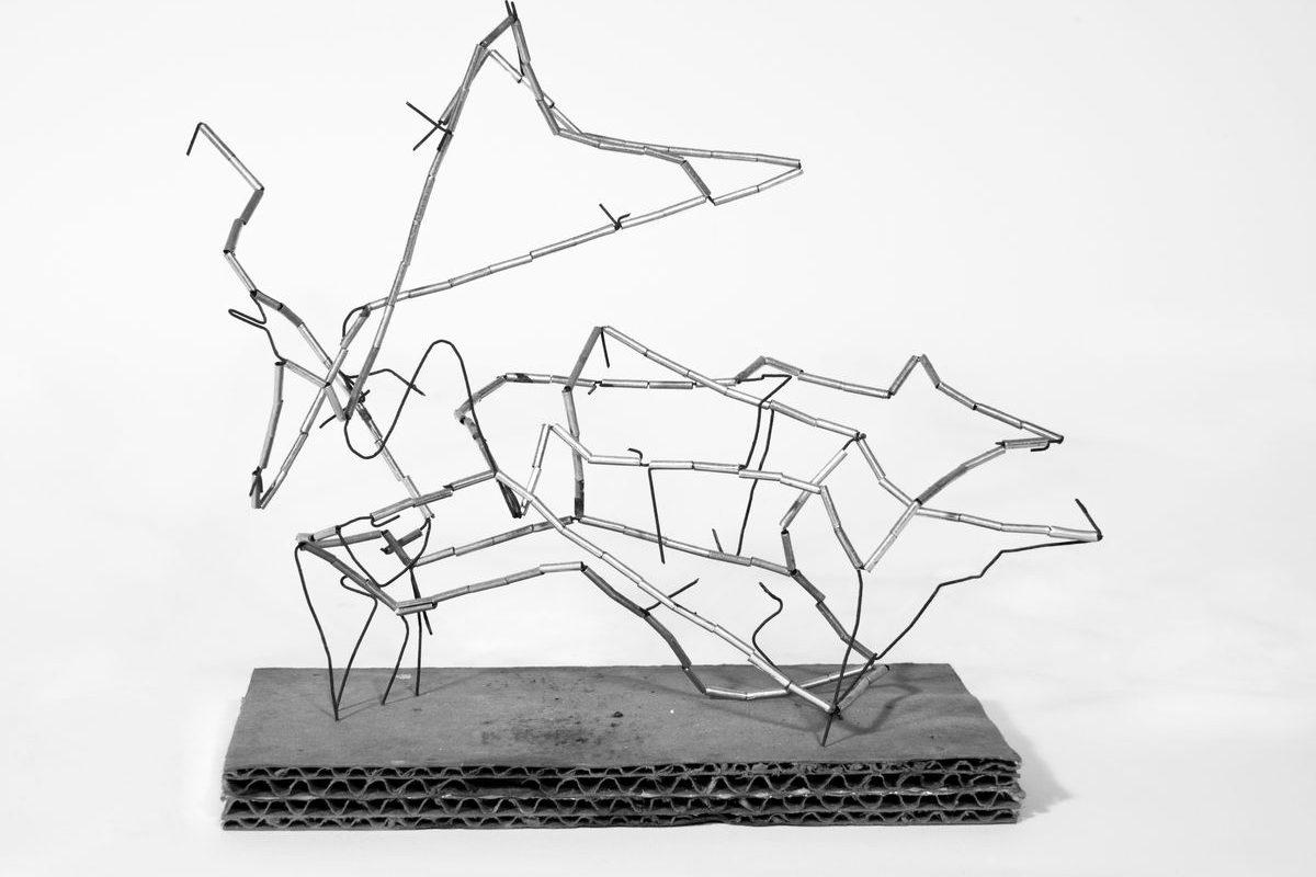 Csövecskékbl álló térbeli konstrukció, 2000-es évek
