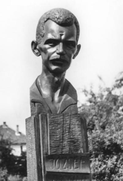József Attila-portré, 1981