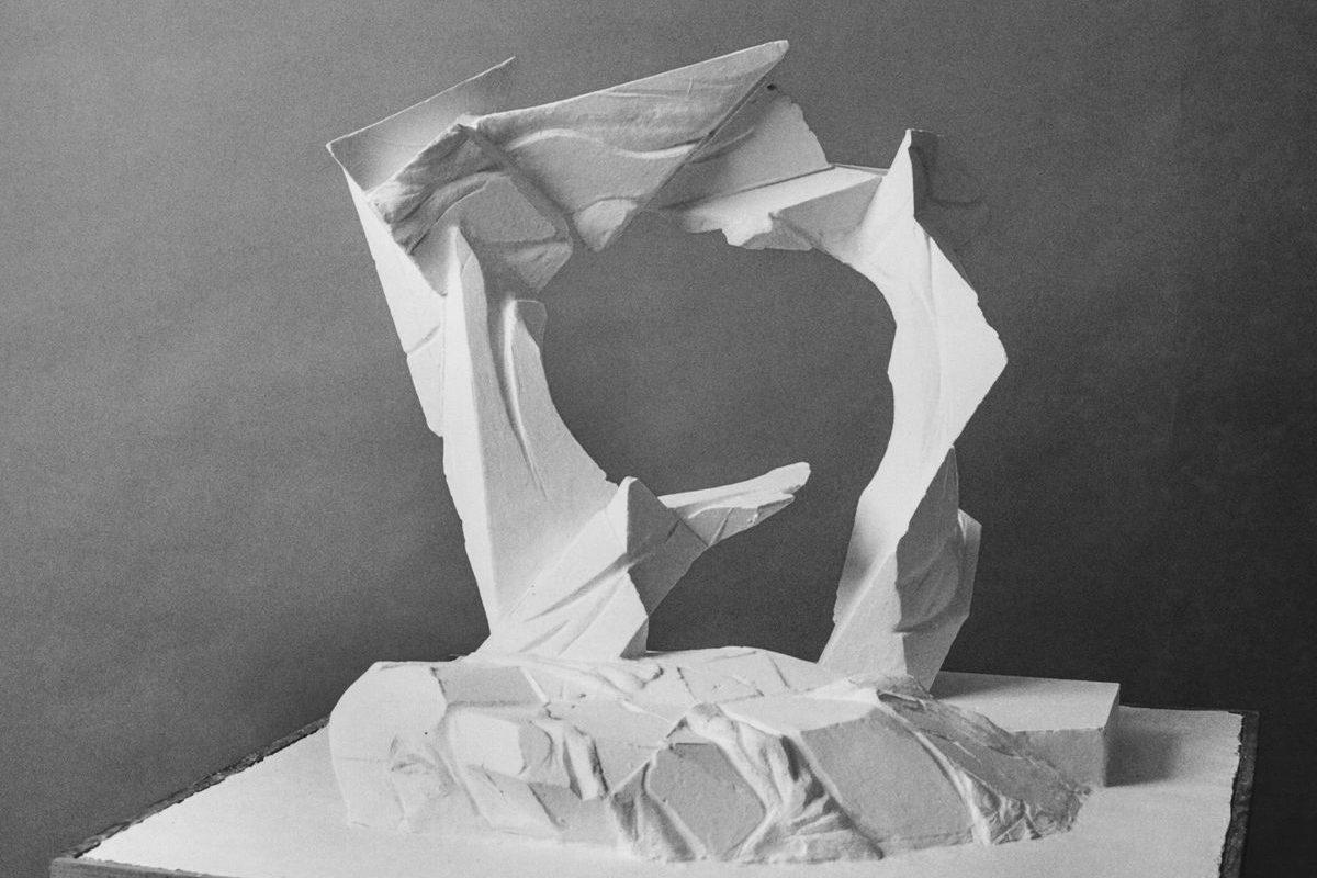 Makett a szegedi '56-os emlékmhöz, 1995