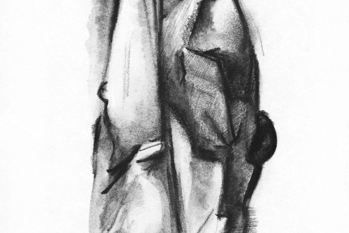 Absztrahált álló figura, 1968-69