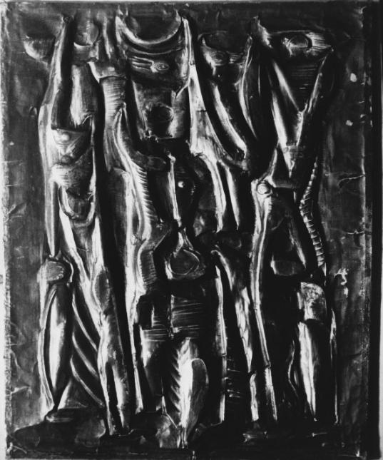 Tánc, 1968 (kat. 331.)