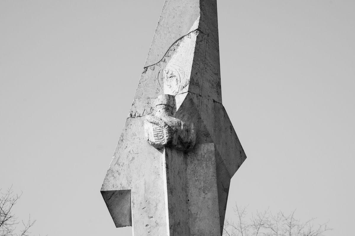 Tétényi csata (Honvéd emlékmű) (részlet), 1996