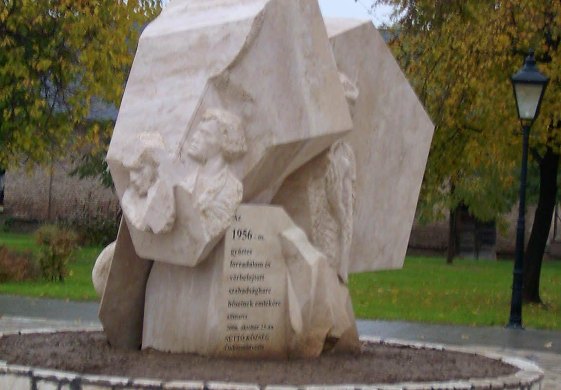 Naplótöredék ('56-os emlékmű), 2006 (kat. 296.)